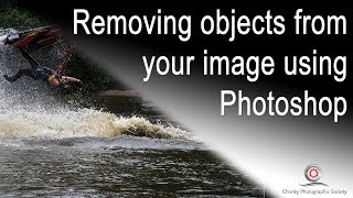 Removing unwanted objects in Photoshop