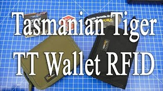 Tasmanian Tiger TT Wallet RFID (Kartenausleseschutz)