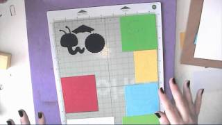 Cricut Create A Critter Book Worm Card