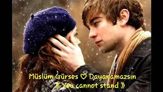 Müslüm Gürses ♡ Dayanamazsın with English subtitles (You cannot stand)