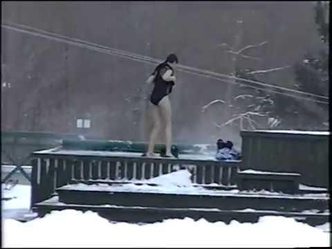 Bain tourbillon à moins 15 degrés - janvier 2000