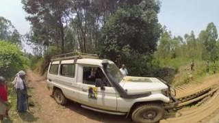 Journey To Find Gorilla: 360 Video