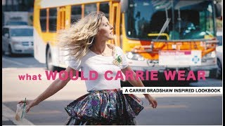 THE CARRIE BRADSHAW INSPIRED LOOKBOOK// LOS ANGELES