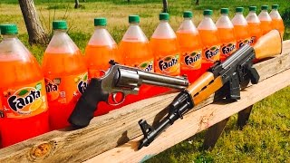 AK-47 VS 500 MAGNUM VS FANTA