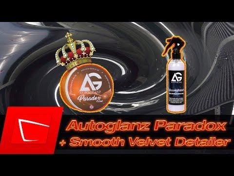 Autoglanz Paradox Wachs und Autoglanz Smooth Velvet Detailer im Test