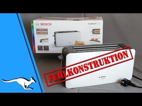 Toaster Bosch ComfortLine TAT6A001