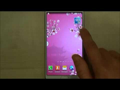 Video of Abstract Sakura Live Wallpaper
