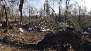 Hattiesburg damage video