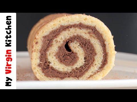 Chocolate Filled Cinnamon Pumpkin Roll – MYVIRGINKITCHEN