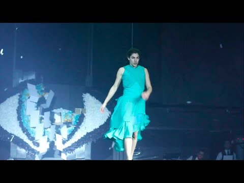 Kenzo World Launches in Fuerza Bruta Argentina