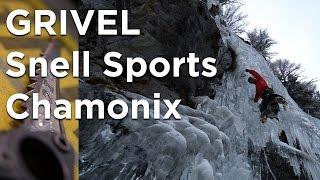 Grivel Snell Sports Chamonix Mont-Blanc Cascade de Glace Dry Tooling Bérard Vallorcine matériel