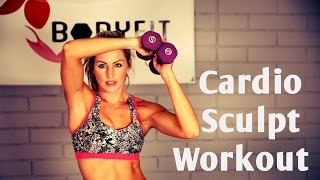 20 Minute Full Body Cardio Sculpt for Fat Burning and Toning by BodyFit By Amy