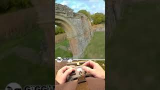 FPV flight around church ruins UK fpv
