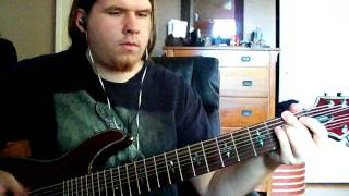 The Acacia Strain - Jonestown (Guitar Cover) New song!