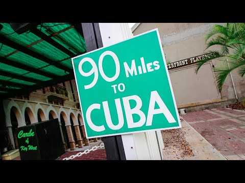We're 90 miles from Cuba! (Exploring Key West, Florida)