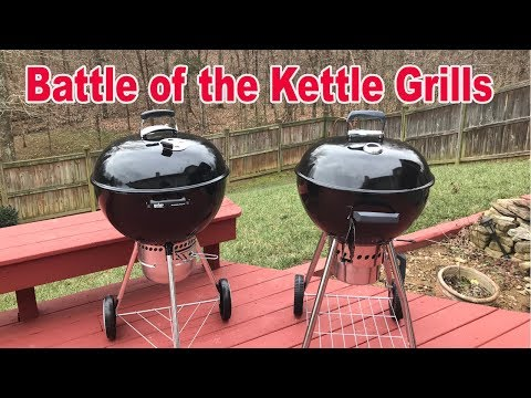 Battle of the Kettle Grills – Weber vs Sam's Club (Members Mark)