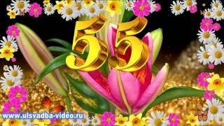 Видеозаставки распускающиеся цветы