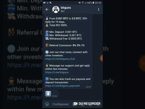 Bitguns Telegram botu super odeme yapiyor odeme kanitli