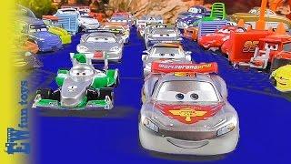 Disney CARS RACE McQueen Francesco 2015 Disney Cars Story Set Toys
