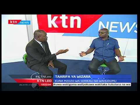 KTN Leo: Seth Panyako katibu mkuu chama cha wauguzi nchini akituelezea kuhusu mgomo wa madaktari