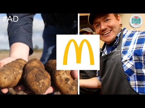 A DAY WORKING WITH McDONALD'S #ad