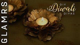 Easy & Creative DIY 'Diyas' for Diwali | Best Diwali Decoration Ideas 2017 | Pinterest Inspired!
