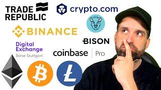 Welche Crypto-Borsen sind in den USA legal?