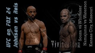 The MMA Vivisection - UFC on FOX 24: Johnson vs. Reis picks, odds, & analysis