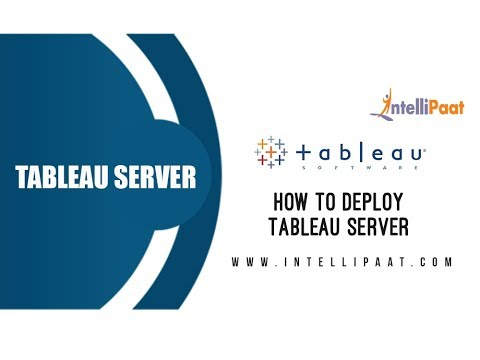 Tableau Server & Administration Certification Training