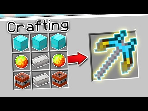 CRAFTING THE FASTEST PICKAXE IN MINECRAFT?! | Minecraft Mods