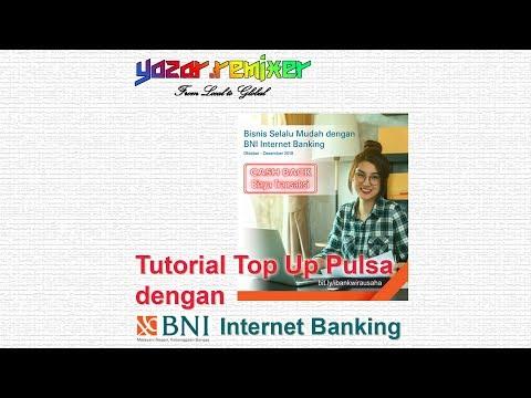 Tutorial Top Up Pulsa dengan BNI Internet Banking