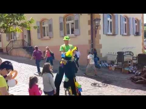 Comedy Ballonzauberer Live Musik DJ Team Toscana video preview
