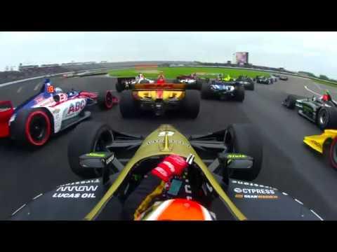インディカー第5戦インディカー・グランプリ 1周目