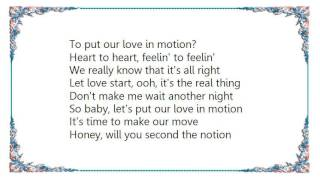 Charly McClain - Let's Put Our Love in Motion Lyrics