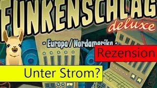 Funkenschlag Deluxe (Brettspiel) / Anleitung & Rezension / SpieLama