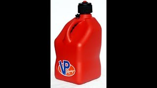 PRODUCT REVIEW : VP Racing Fuel 3512 Red Motorsport Jug - 5 Gallon / TRIP TO BUC-EES TO BUY ONE