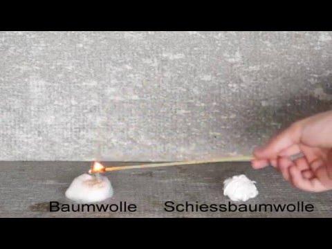 Cellulosenitrat: Ein Unterrichtsfilm zum Thema Schiessbaumwolle