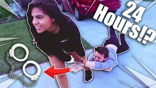 HANDCUFFED TO A STRANGER FOR 24 HOURS !?