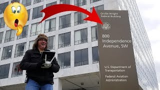 Drone in RESTRICTED AIRSPACE?! - Washington DC FAA protest (Save our Hobby)