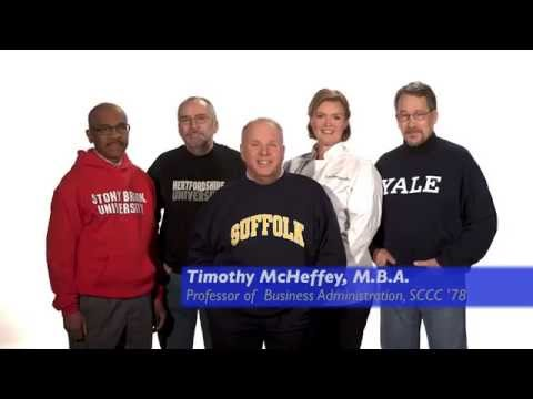 Suffolk Faculty TV Commercial