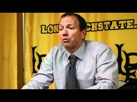LBSU Basketball: Dan Monson Post-Game Interview 1/5/2012