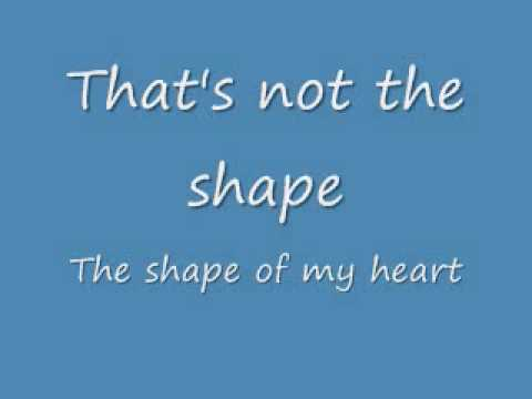 Shape of my Heart (Lyrics) [Sting]