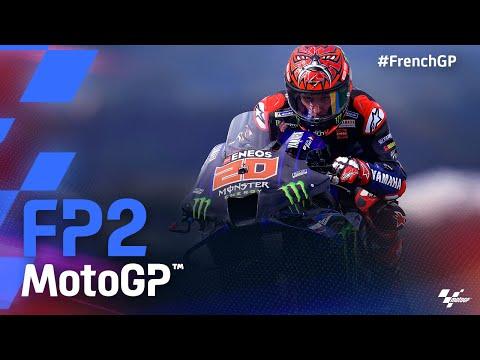 MotoGP 2021 第5戦フランス FP2のハイライト動画