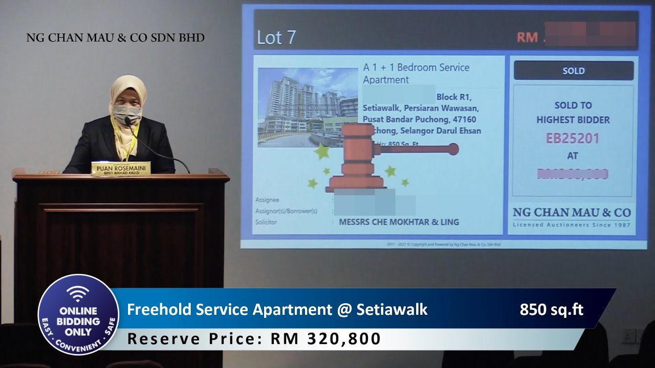 "😱Gan Jiong! 21 bidders ""Rebut"" 2 different units!"