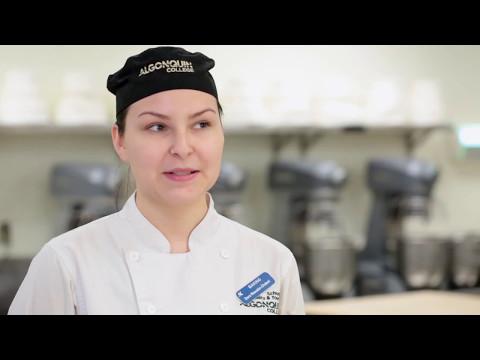 Dara: Student in Baking & Pastry Arts program - YouTube