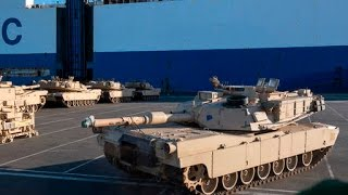 U S  Tanks Now Entering Germany As Obama Deploys Forces Against Russia In Europe