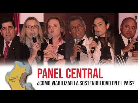 #PremiosProActivo 2019 | Panel Central: ¿Cómo viabilizar la sostenibilidad del país?