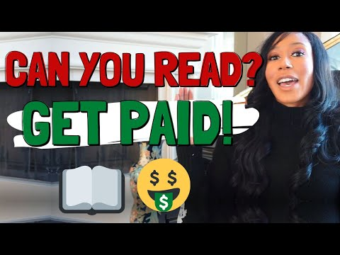 This site pays you $1000s to READ ALOUD!
