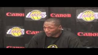 Theo Ratliff on joining the Lakers