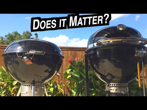 Pulled Pork Throwdown! Weber Summit Charcoal Grill vs Slow 'N Sear 27 kettle | How to smoke Center